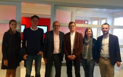 Nga vizita në Belgjikë e një delegacioni të Lëvizjes VETËVENDOSJE!