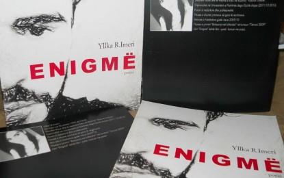 """Me 30 shtator, promovohet libri """"Enigmë"""" i autores Yllka R. Imeri"""