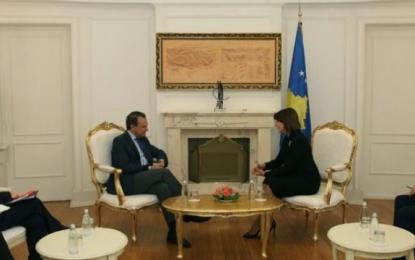 Jahjaga dhe Conde bisedojnë për gjendjen në Kosovë