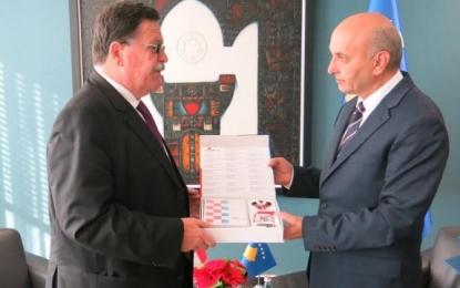 Mustafa vlerëson mbështetjen e Kroacisë për Kosovën