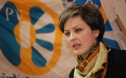 Ardita Sinani, kryetare e degës së PVD-së në Preshevë
