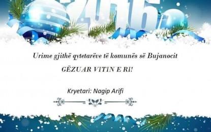 Urimi i kryetarit të komunës së Bujanocit Nagip Arifit