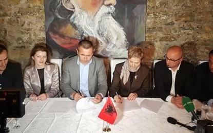 Ja marrëveshja e koalicionit APN-PVD(dokument)