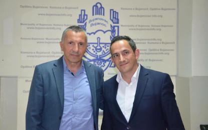 Kryetari Kamberi priti  nënkryetarin e  Kamenicës Fatmir Matoshi