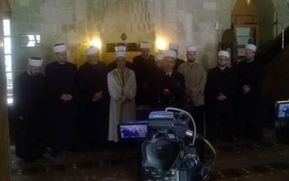 Lugina uron për muajin e Ramazanit nga Bajrakli Xhamia në Beograd
