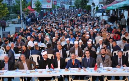 Organizohet Iftar i madh në qendër të Bujanocit