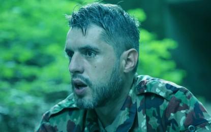 Regjisori Valton Jakupi në rolin e ushtarit në filmin Francez