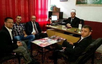 Xhelal Mehmeti viziton Këshillin e Bashkësisë Islame në Preshevë