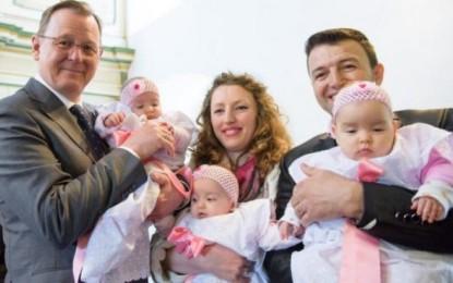 Familja shqiptare me katërnjakë që fitojë leje qëndrimi në Gjermani
