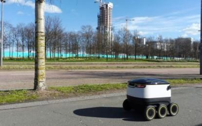 Njihuni me robotin Starship, i cili sjell ushqimin tuaj në shtëpi(VIDEO)