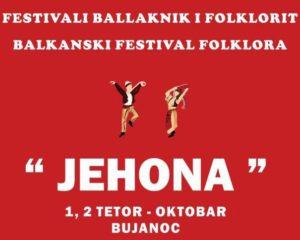 Bujanoc: Festivali Ballkanik i Folklorit më 1 dhe 2 tetor(foto)