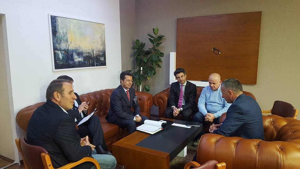 Shefi i ri i Misionit të OSBE-së, ambasadori Andrea Orizio, vizitoi Bujanocin