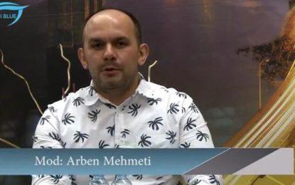 """Arben Mehmeti nga Presheva  me emsion  të ri në  RTV """"Syri Blue""""  në Zvicër"""
