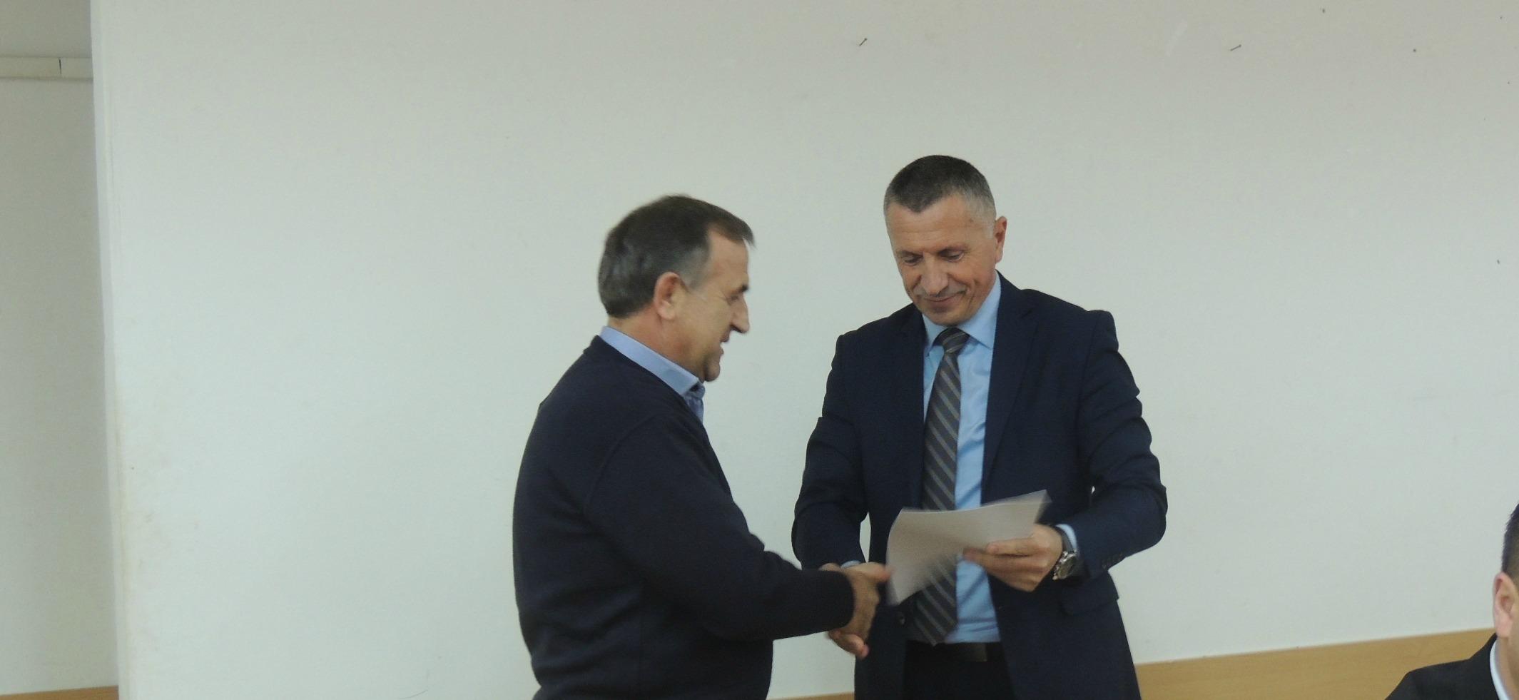 Bujanoc: Bizneseve lokale i dorëzohen kontratat për subvensionim nga Trupi Koordinues