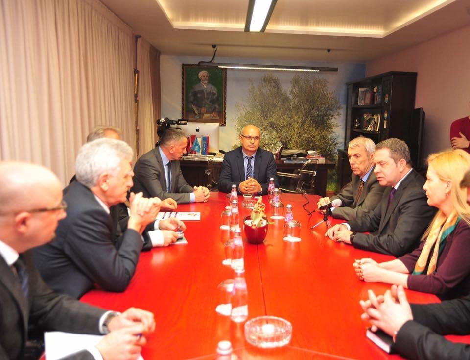 Kreu i PDIU takim me përfaqësues nga Presheva, Bujanoci dhe Medvegja