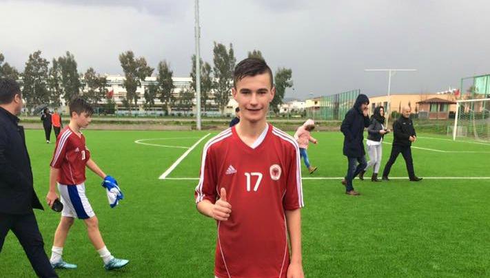 Arlind Fejzullahu nga Tërnovci  përzgjedhet  nga  Kombëtarja  Shqiptare U-15