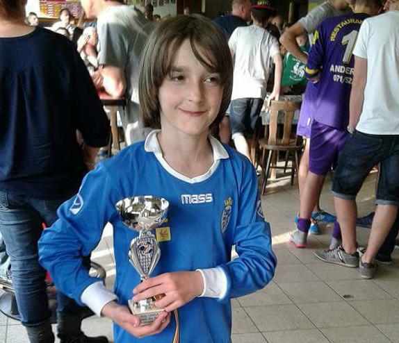 Ky është talenti i ri nga Lugina në futbollin Belg(foto)
