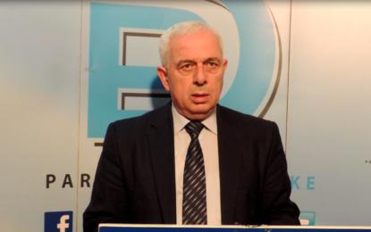 Konferencë për shtyp e kryetarit të PD-së Nagip Arifi(Video)