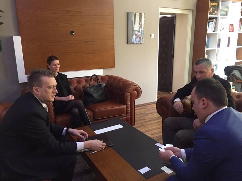 Përfaqësuesit e Ambasadës së SHBA-së qëndruan në Bujanoc
