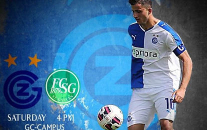 Valoni nga Letovica e Bujanocit debuton në ligën e parë Zvicerane me Grasshopers Club