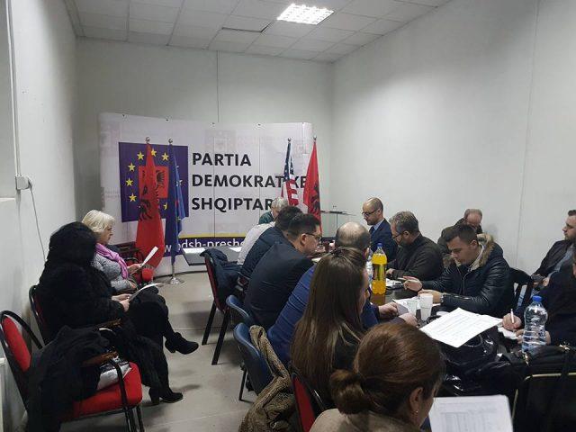 Preshevë: PDSH vendosë të  mos merrë pjesë në zgjedhjet presidenciale të Serbisë(dokument)