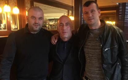 Visar e Kujtim Xhemaili  nga Tërnoci i Bujanocit vizitojnë Ramush Haradinajn në Francë