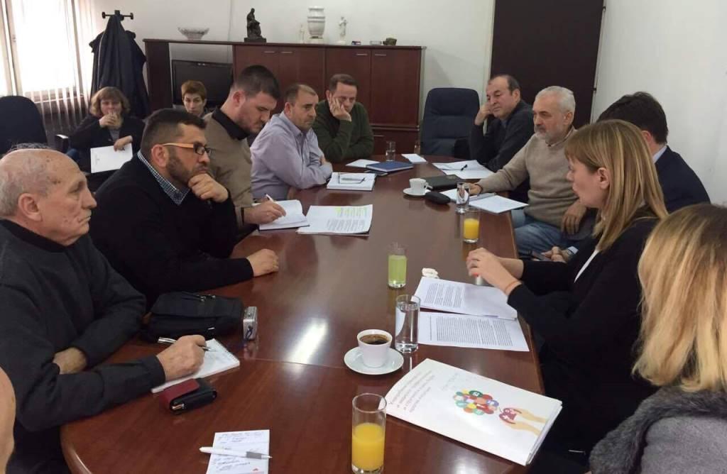 Përfaqësuesit shtetëror  nga Beogradi në përkrahje të mediave  lokale në Bujanoc e Preshevë