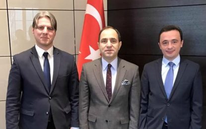 Arifi: Fuqizohet edhe më shumë bashkpunimi me Ambasadën e Turqisë në Beograd