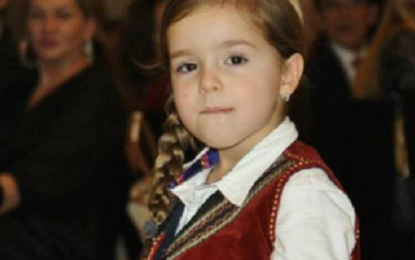 Stilistja  e vogël shqiptare Valentina  Ivezaj në faqen e parë  në Lesters të New York-ut