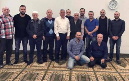 """Xhemati i xhamisë""""Bashkimi""""në Büsserach të Zvicrës vazhdon të ndihmoj  në ndërtimin e xhamisë në Maltërnoc"""