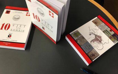 """Monografia """"10 vjet për kombin""""  i SHHLP-së,  me 06. Maj, do të promovohet në Namur të Belgjikës"""