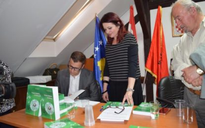 """Në  Zagreb u promovua libri i Dashnim Hebibi """"Diaspora shqiptare në udhëkryq"""""""