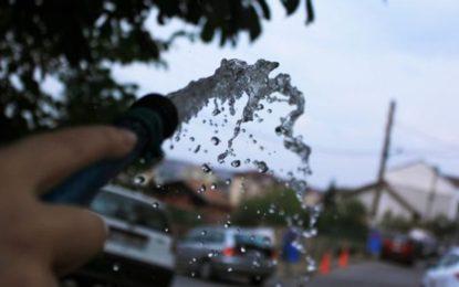 Apel për përgjegjshmëri – kursene ujin