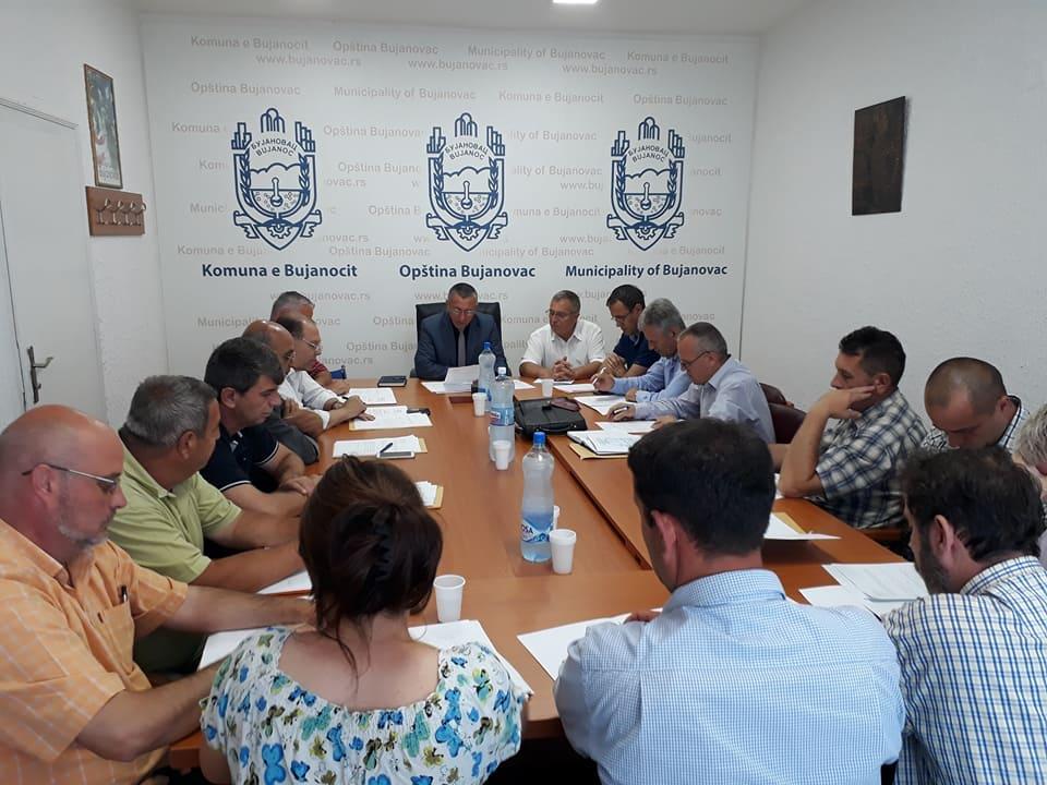 Bujanoc:Zhvillohet seanca e njëmbëdhjet e Këshillit Komunal