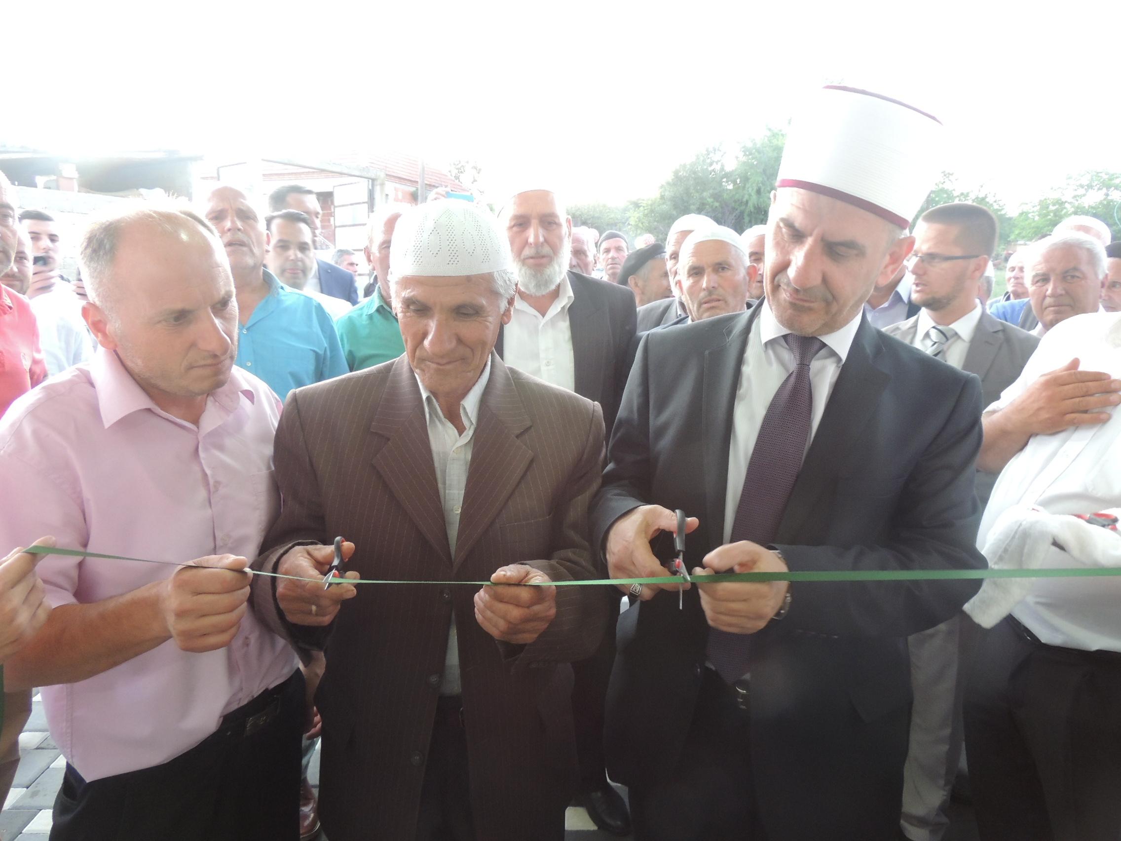Hapja solemne e Xhamisë në Maltërnoc të Bujanocit(video)