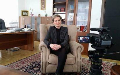 Urimi i kryetares Sinani me rastin e Fitër Bajramit