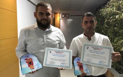 Tiranë: Regjisori Valton Jakupi nga Bujanoci dekorohet me dy çmime,  Blerim Hasani me titullin për të rinjë