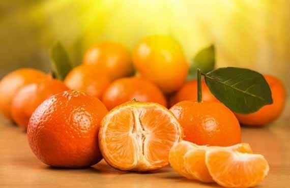 Mandarina rregullon qarkullimin e gjakut