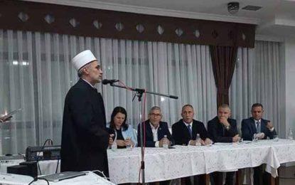 Myftiu Saqipi, kërkon votën Luginase për Xhevat Demirin e AAK-së