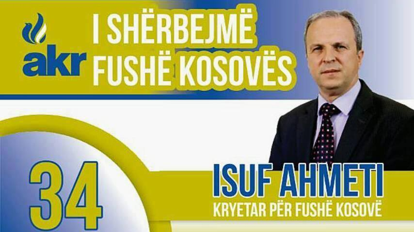 Ahmeti : Ju inkurajoj të votoni njerëzit që ju i njihni për integritet, karakter dhe profesionalizëm