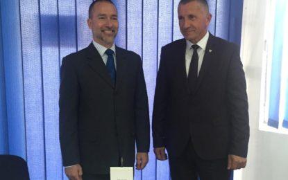 Kryetari  Kamberi u takua me  zv/shefin e misionit të OSBE-së Serbi, Joseph Mellot