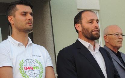 Hoxhë Neki Kaloshi nga Tirana lutet për qetësi dhe begati në  Luginë(Video)