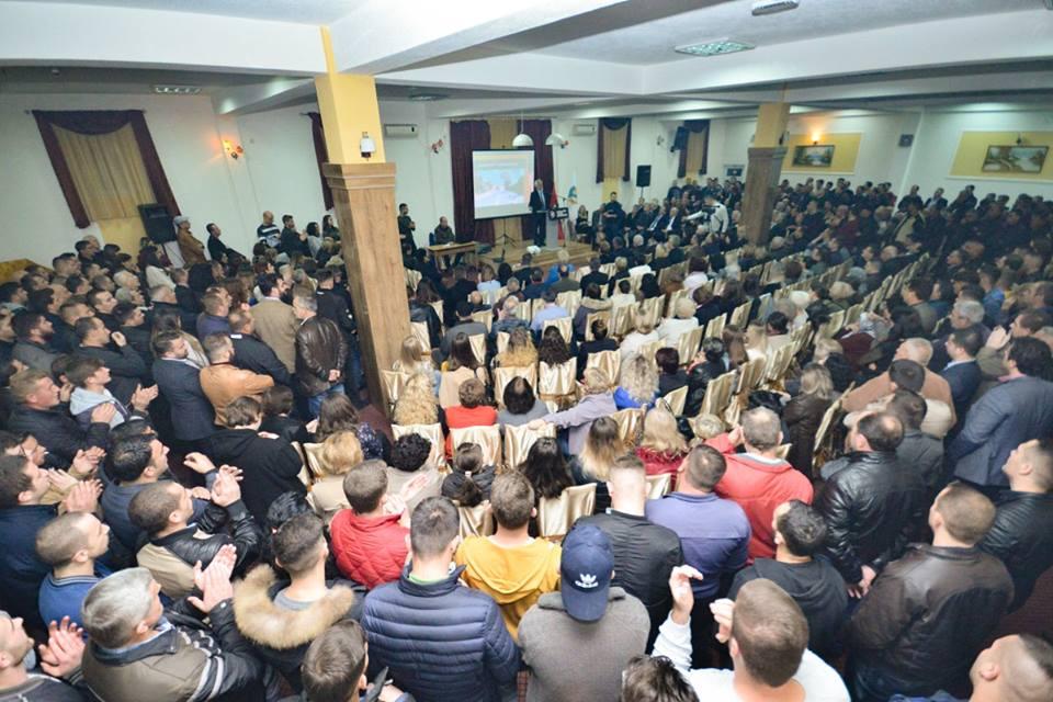 PVD  hapë fushatën parazgjedhore në Preshevë