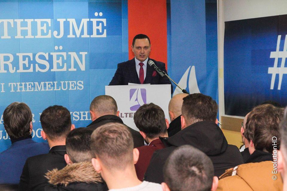 Fjalimi i Arbër Pajazitit në kuvendin themelues të APN-së në Bujanoc