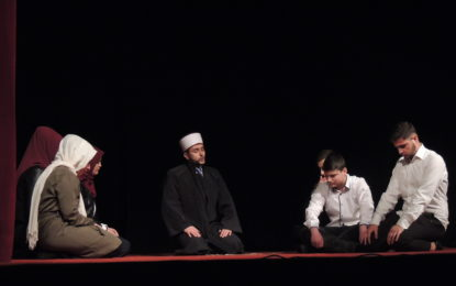 "Preshevë: Shfaqet  drama  ""Preokupimet""(video&foto)"