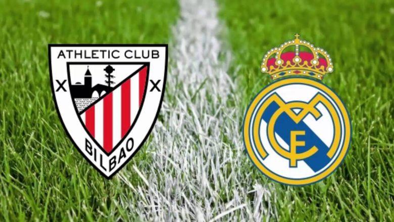 Formacionet zyrtare: Reali në kërkim të fitores ndaj Bilbaos