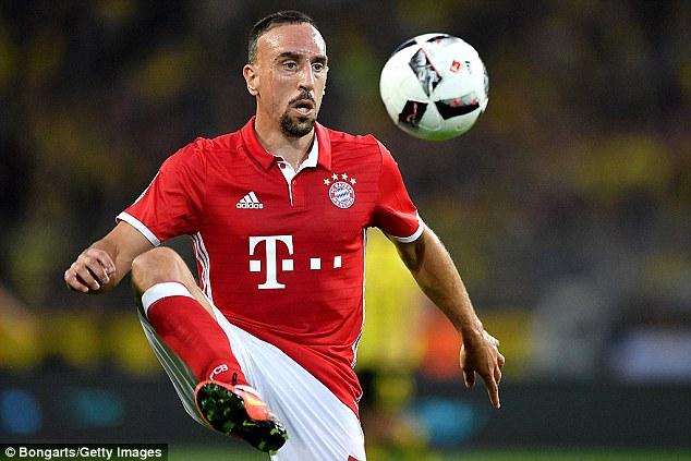 Rekordi i Ribery, lojtari jogjerman me më shumë takime me Bayernin