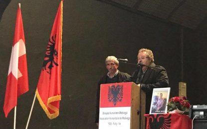 Në Charrat të Zvicrës u përkujtua veprimtari, Musa Neziri