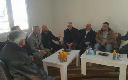 Dorëzimi i çelësave të shtëpisë për familjen e Asmir Salihut në Bilaç
