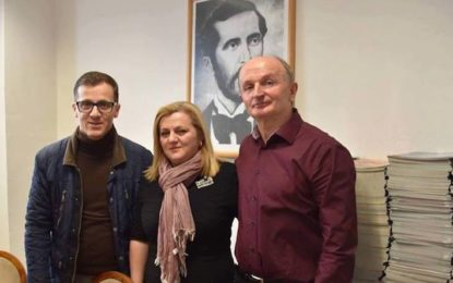 Deputetja e Parlamentit kroat,Ermina Lekaj Prljaskaj, vizitoi LAPSH-in në Zvicër
